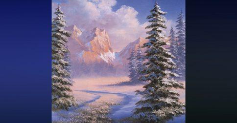Majestic Mountain Meadow