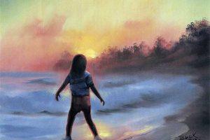 Katie at Sunset