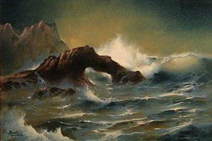 Bierstadt Seascape