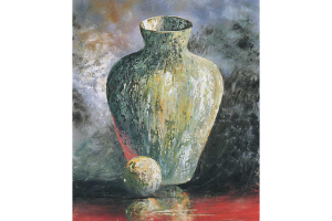 Vase by Knife
