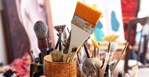 """Is the """"live"""" painting workshop irrelevant?"""