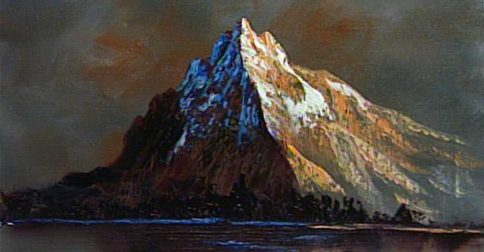 A Mountain Meditation.